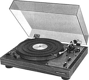 Realistic Lab 400 Manual Direct Drive Turntable With