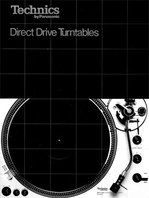 Technics Direct Drive Turntables