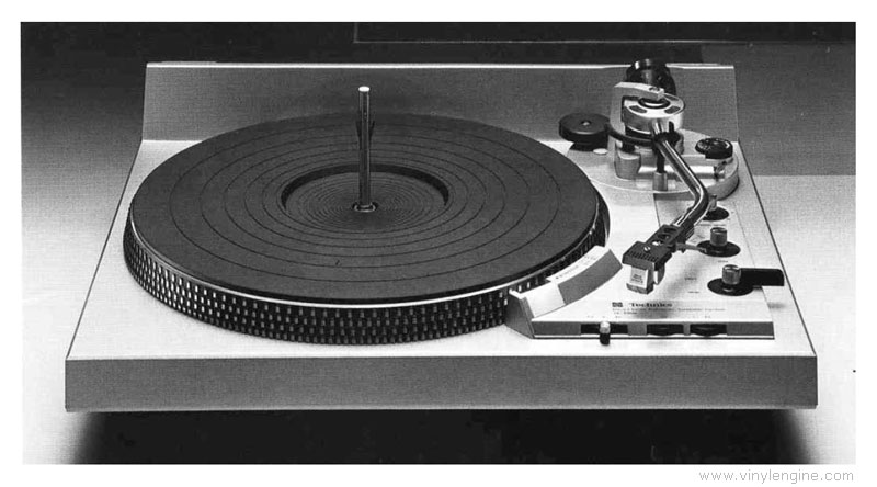 Technics Sl 1950 Manual Direct Drive Automatic Record