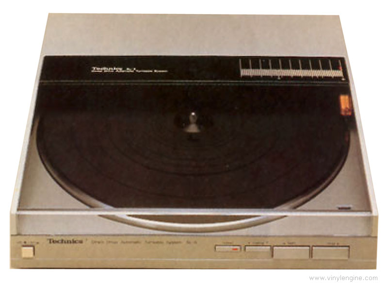 Technics SL-5 - Manual - Direct-Drive Fully-Automatic