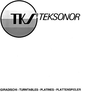 Teksonor Turntables