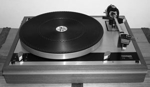 Thorens Td145 Manual 2 Speed Belt Drive Suspended