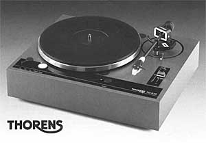 Thorens Td535 Manual 3 Speed Direct Drive Professional