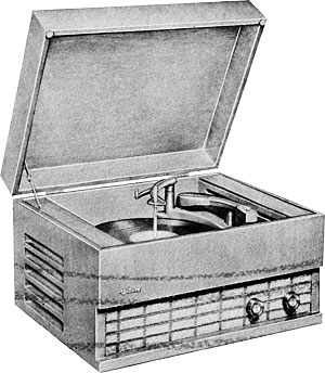 Webcor Musicale Manual Automatic Record Changer