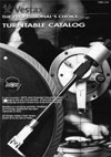 Vestax Turntable Catalogue