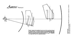image regarding Protractor Printable Pdf named Free of charge Cartridge Alignment Protractors - Vinyl Motor