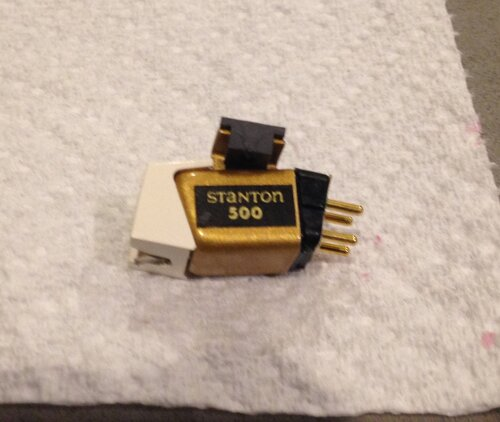 This Stanton 500 Cartridge Any Good Vinyl Engine