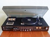Crown SHC-5500 Turntable  with Receiver and Cassette Deck