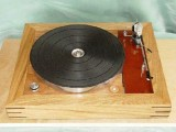Thorens TD150 with Custom Built Plinth - Front View