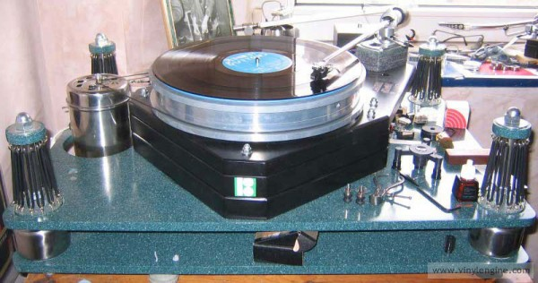 Massive Handmade Turntable For Sale Vinyl Engine