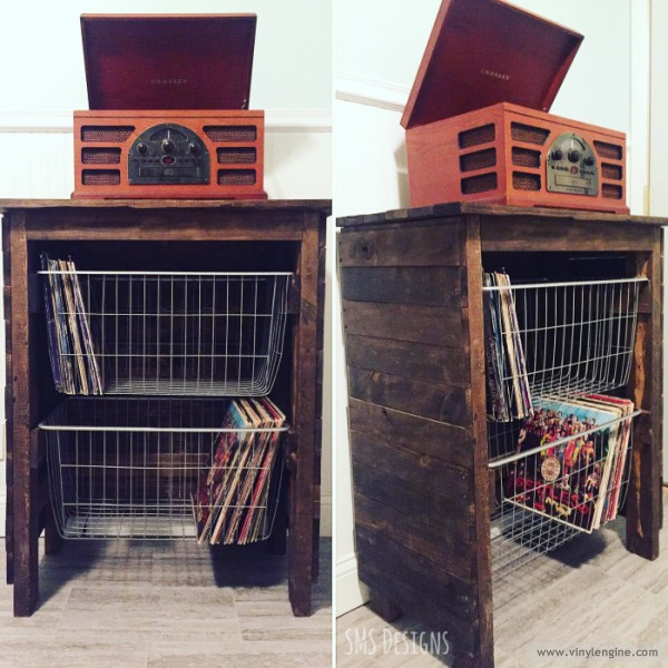 sms designs record cabinet