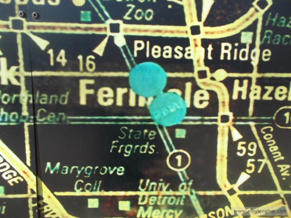 ferndale on the map