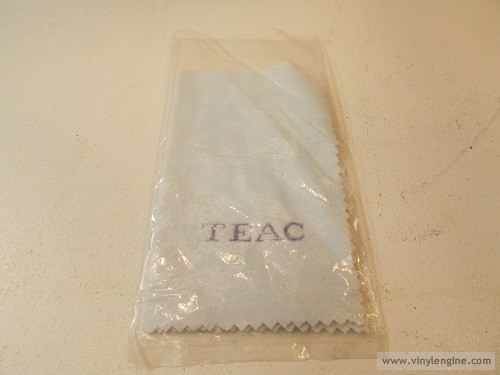 teac cleaning cloth