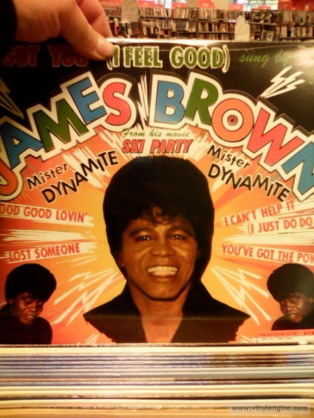 2nd & Charles James Brown LP