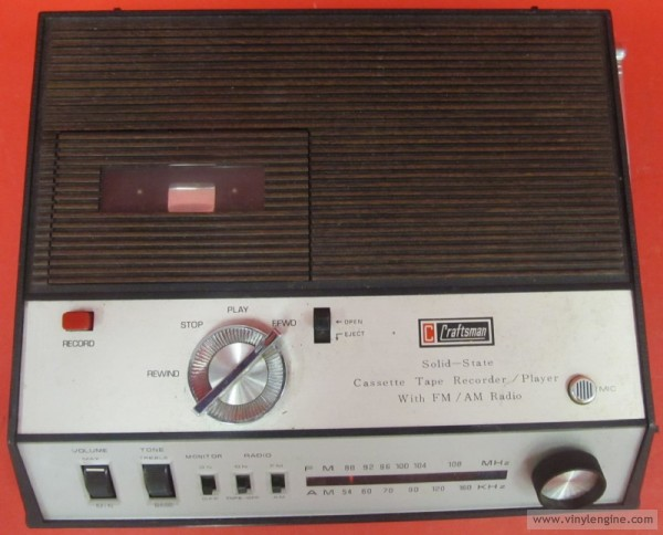 craftsman tape recorder radio #2
