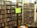 #8 antique mall cd racks and sign #2