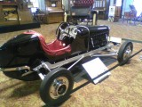 #145 another cool roadster in the lobby